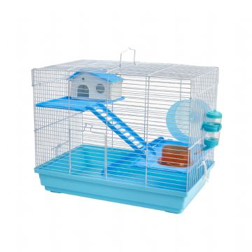 Pet Ting Blue Sunflower Rodent Cage